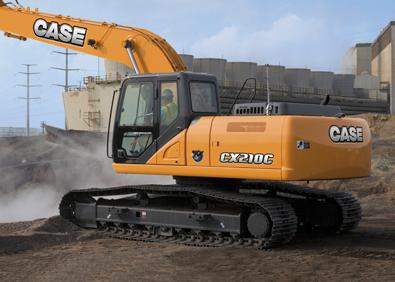 Case CX210C Excavator Boosts Power, Fuel Economy