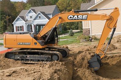 Case Cx210c Excavator Boosts Power Fuel Economy