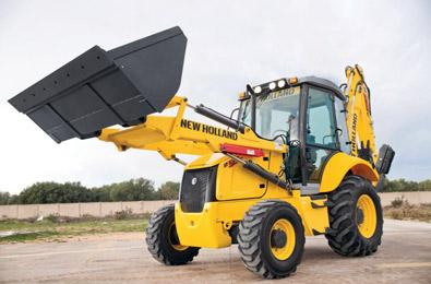 New Holland loader backhoe